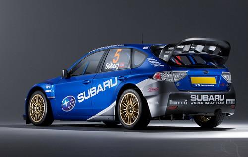 Subaru Impreza World Rally Car 2008