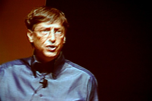 Bill Gates critical view