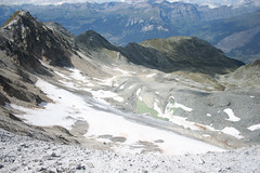 The Bella Tolla Glacier (Saint-Luc, Switzerland) Photo