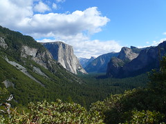 Tunnel View @Yosemite