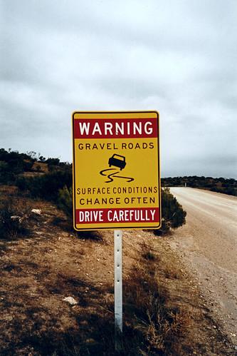 Dangerous roads?