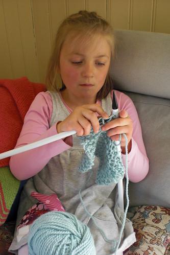 M - knitting :)