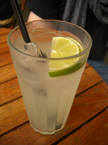 Clementine limeade