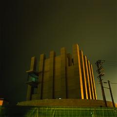 The Castle (akira ASKR) Tags: castle fuji hasselblad okinawa 沖縄 naha provia provia100f hasselblad500cm 那覇 rdpiii distagoncf50mmfle 那覇うみそらトンネル 沈埋トンネル 沈埋工法 鏡水 kagamizu