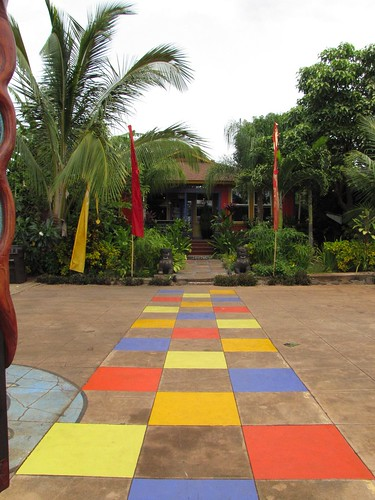 colored stepping stones