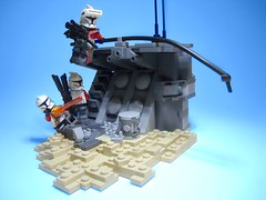 Mission 7.3 (justin pyne) Tags: fiction trooper star lego space 7 science company corps mission fi wars squad clone yankee 73 sci gand legion crusaders 457th 707th