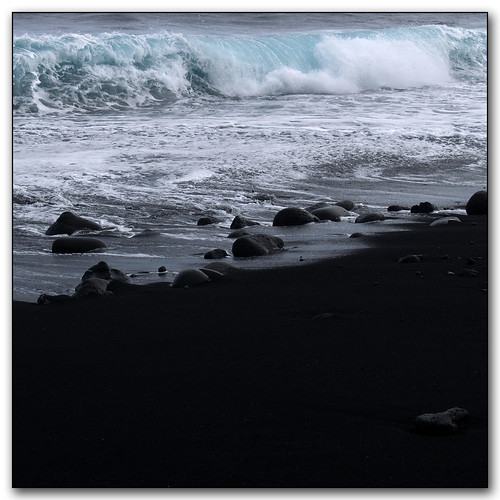 black sand hilo beach
