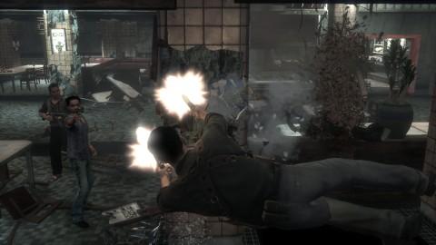 Stranglehold Disparos