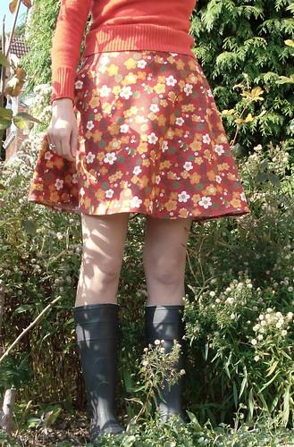 Gardening skirt