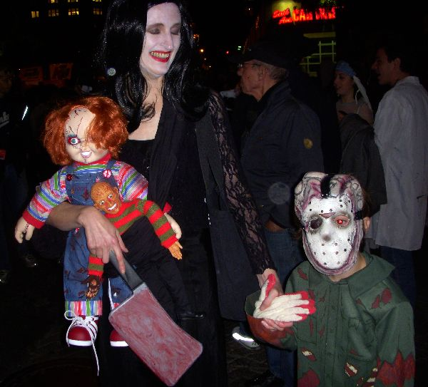 Greenwich Village Halloween Parade 2007