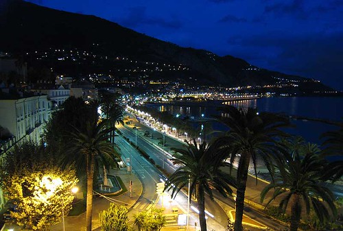 View from our Menton apartment