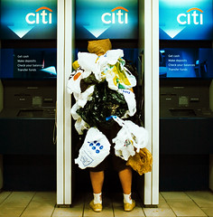 (razorbern) Tags: nyc newyork brooklyn plastic atm citibank