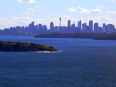Sydney skyline from North Head