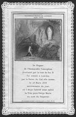 Spitzenbildchen Lourdes