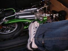 Como prender as calças para pedalar - I