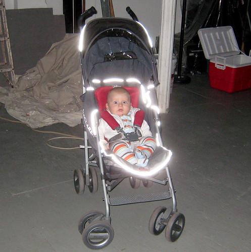 glowing stroller
