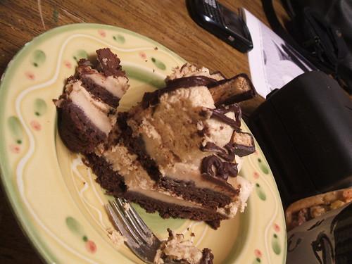 BirthdayPeanut ButterBombBrownieCheesecakeTorte6