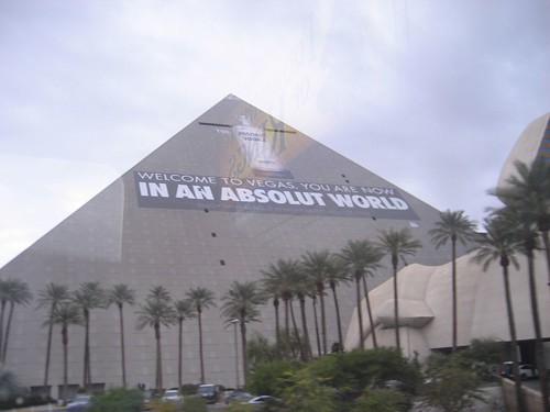 Absolut Ad, Luxor, Las Vegas