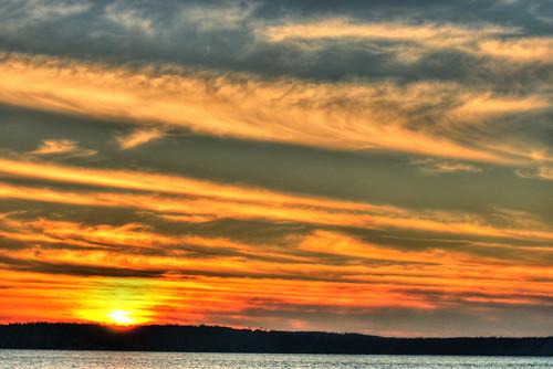 Puget Sound Sunset 1