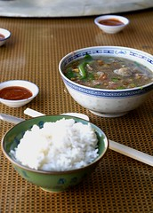 Beef Soup and White Rice.. (chubby_ad) Tags: food minolta maxxum7d konica penang makan 50mmf17