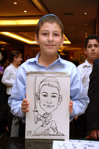 Caricature birthday party 301207 6