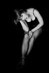 * (joablack) Tags: portrait bw woman sexy girl fashion aka blackwhite nikon portret d80 nikond80 byvea byveave byveaavernalis joablack byjoablack