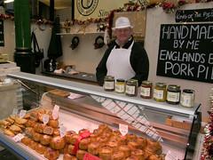England's Best (HellyBelly) Tags: london olympus delicious pork boroughmarket pies uz sp550