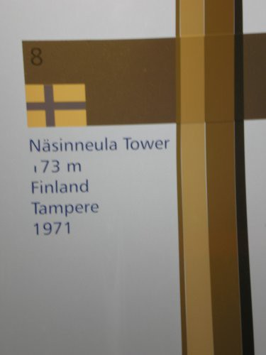 Detalle de la torre