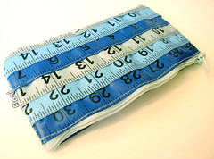 Blue Measuring Tape Case