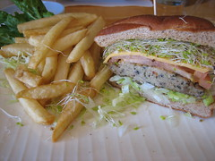 Bean Sprouts Tofu Burger