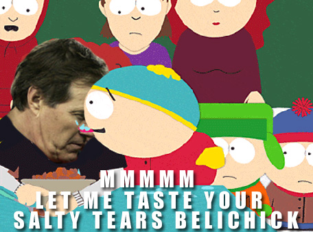 Cartman Licks Belichicks Salty Tears