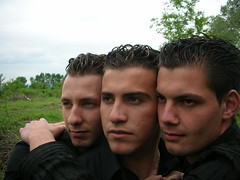Three buddies. North Greece (d.mavro) Tags: boy man male guy beautiful face greek friend muscle north handsome uomo greece yunan homme jeune yunanistan erkek arkadas