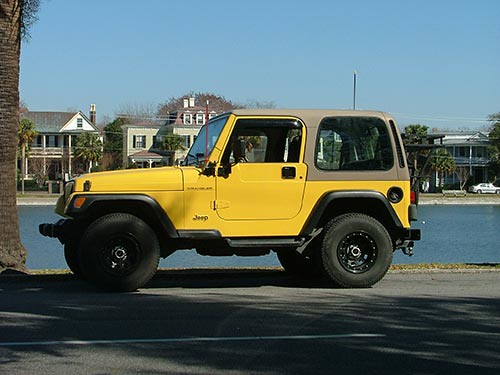 Custom 2000 Jeep Wrangler