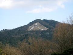 冬の大文字山