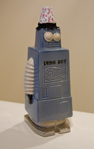 Tiki Bar TV Drinkbot Decanter