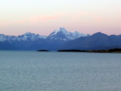 Mt cook sunset (abuela en espana) Tags: sunset newzealand mountcook