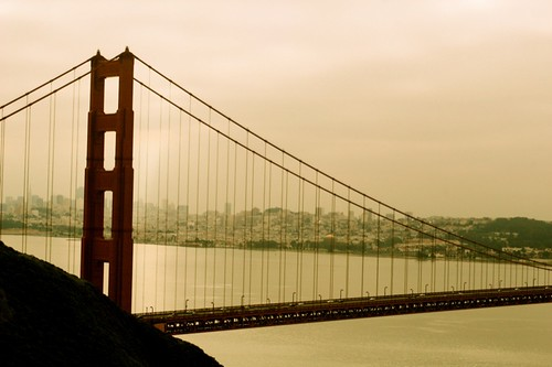 My fave spot in SF: The Marin Headlands