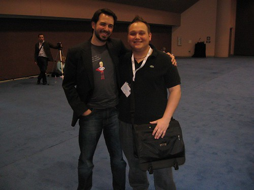 Tyler Shears and Rand Fishkin at SMX West 2008