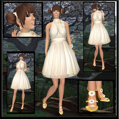 Token Sim _ fuwafuwa dress