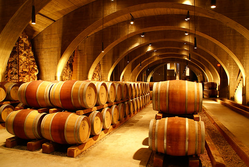 Mission Hill Winery Cellar & Mission Hill Winery Cellar - a photo on Flickriver