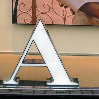A - serif
