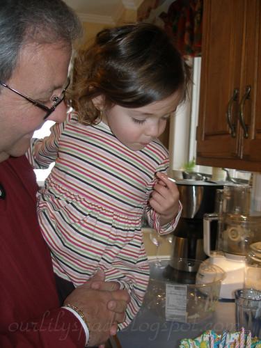Erikas birthday with Grandpa and Nannie 023