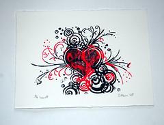 'Exploding Heart - jocreates on Flickr