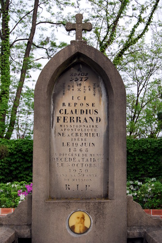 Headstone of Claudius Ferrand