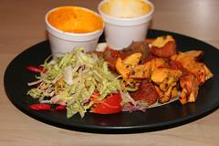 Mixed kebab from The Guru Balti Restaurant, Edinburgh
