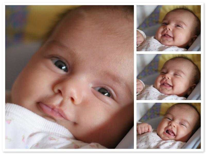 Desarrollo físico y mental de un bebé de 2 meses