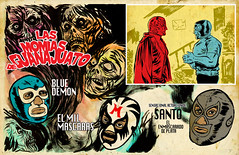 final GUANAJUATO! (aziritt) Tags: film ink brush movies bluedemon luchalibre zombies santo momias flicks milmascaras alexisziritt