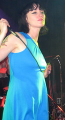 Kate Jackson with The Long Blondes in Minneapolis
