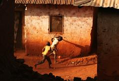 Sunset Football (AdamCohn) Tags: football soccer cameroon cameroun foumban adamcohn httpwwwadamcohncom