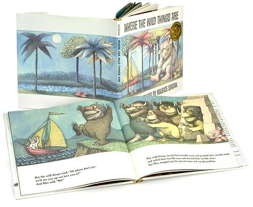 Top 100 Picture Books #1: Where the Wild Things Are by Maurice Sendak